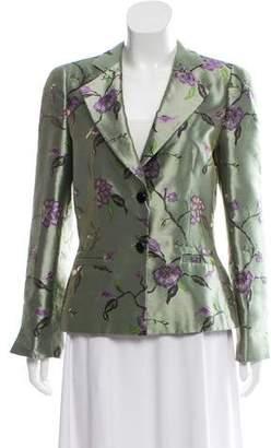 Armani Collezioni Giacca Floral Blazer