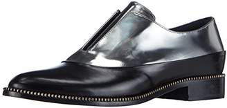 Sebastian Women's Metallic/Black Oxford Loafer