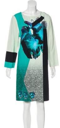 Prabal Gurung Abstract Print Knee-Length Dress