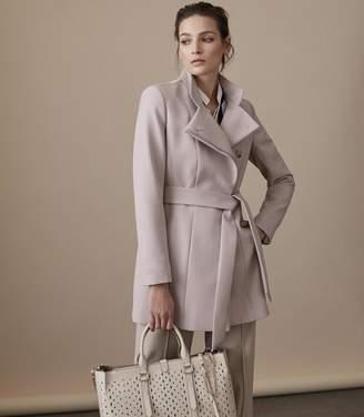 Reiss Luca Wrap-Front Jacket