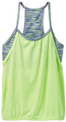 Z By Zella Double Layer Tank (Little Girls & Big Girls) $18.97 thestylecure.com