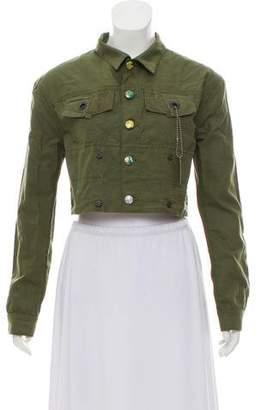Life After Denim Embellished Crop Jacket