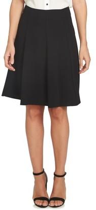 Women's Cece Crepe A-Line Skirt $79 thestylecure.com