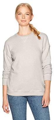 Volcom Women's Lil Crew Neck Pullover Fleece Sweatshirt