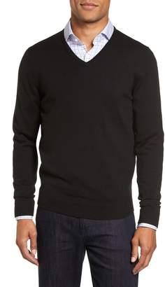 Nordstrom Merino Wool V-Neck Sweater