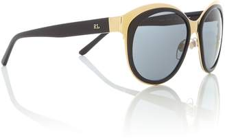 Polo Ralph Lauren Shiny gold irregular 0RL7051 sunglasses