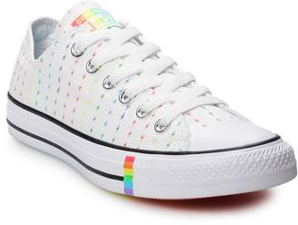 Converse Adult Chuck Taylor All Star Rainbow Bolt Low Top Sneakers