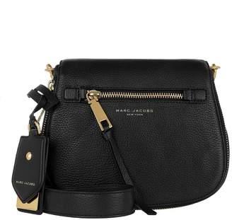 Marc Jacobs Recruit Small Saddle Shoulder Bag Black