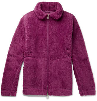 Albam Fleece Zip-Up Sweater