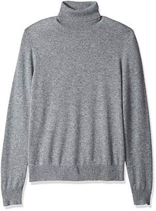Mens Gray Cashmere Turtleneck Sweater Shopstyle