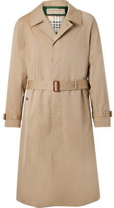 Burberry Bournbrook Cotton-gabardine Trench Coat