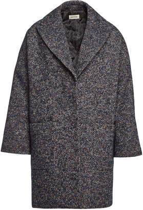 ccfc47f01845b ... Zadig   Voltaire Mika Fantaisie Coat with Wool, Mohair and Alpaca