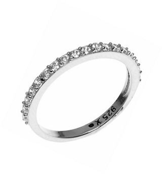 Judith Jack Crystal and Sterling Silver Ring $30 thestylecure.com