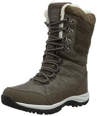 Hi-Tec Women's Riva Waterproof High Rise Hiking Boots, (Beige 41), 8 (42 EU)