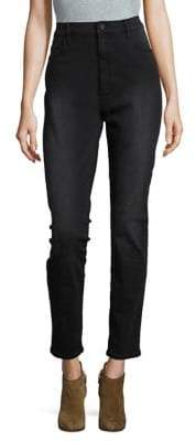 Buffalo David Bitton High-Rise Skinny Jeans