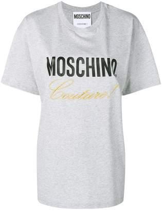 Moschino (モスキーノ) - Moschino ロゴ Tシャツ