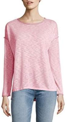 Jones New York Scoopneck Drop-Shoulder Sweater