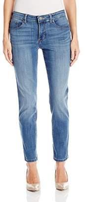Lee Women's Petite Modern Series Midrise Dream Jean Faith Skinny Jean