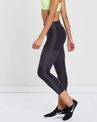 Nike Tech Pack Running Crop Tights - Women's