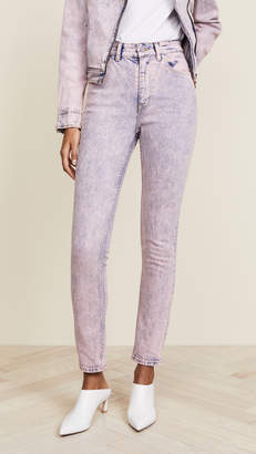 Rebecca Taylor Ines Pink Acid Jeans