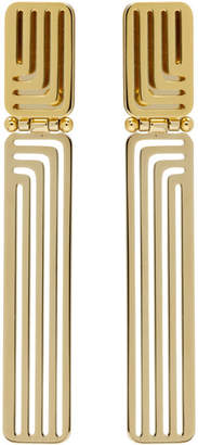 Lanvin Gold Beyond Earrings