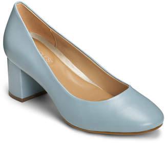 Aerosoles Eye Candy Block Heel Pumps Women Shoes