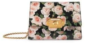 Dolce & Gabbana Dolce& Gabbana Dolce& Gabbana Women's Mix Micro Floral Crossbody Bag - Black