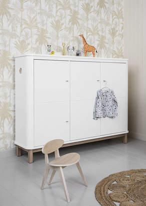Scandinavian Nubie Modern Kids Boutique Tall Curved Dresser