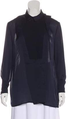 Givenchy Oversize Long Sleeve Blouse