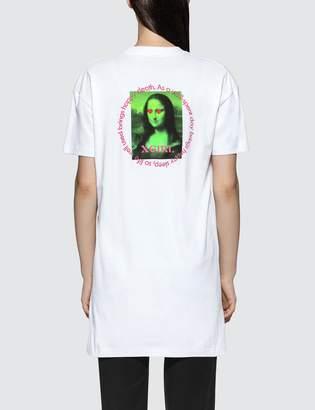 X-girl X Girl Mona Lisa Short Sleeve Tee Dress