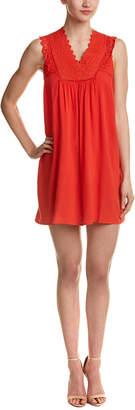 DAY Birger et Mikkelsen dee elle Dee Elle Embroidered Linen-Blend Shift Dress