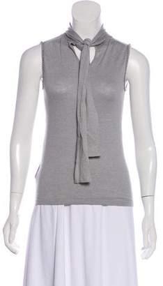 Cacharel Embellished Sleeveless Top