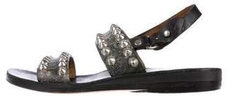 Calleen Cordero Studded Slingback Sandals