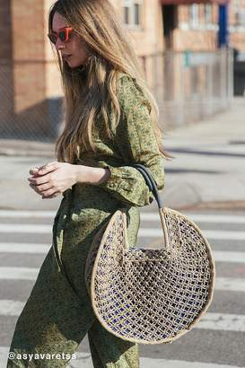 Urban Outfitters Large Circle Straw Tote Bag