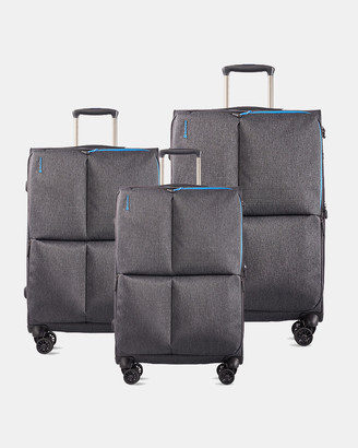 Echolac Serpentine Soft Side 3 Piece Set Luggage