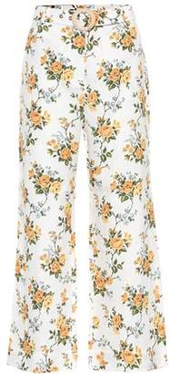 Zimmermann Golden linen trousers
