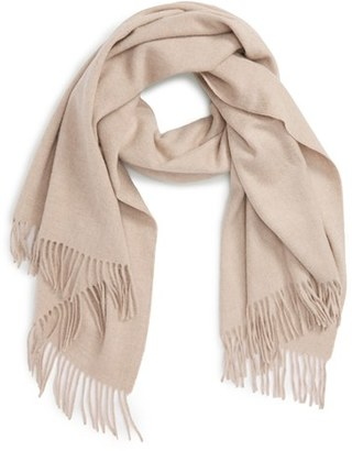 Women's Nordstrom Collection Oversize Cashmere Wrap $299 thestylecure.com