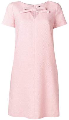 Paule Ka bow detail dress