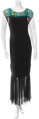 Jonathan Saunders Silk Maxi Dress