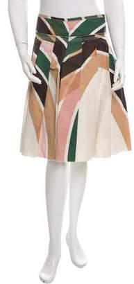 Prada Sport Knee-Length A-Line Skirt
