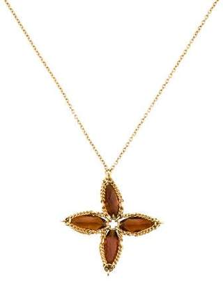 Anthony Nak 18K Citrine Pendant Necklace