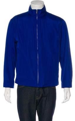 Michael Kors Woven Zip-up Jacket