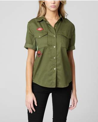 Juicy Couture JUICY PATCHES TENCEL TWILL SHIRT