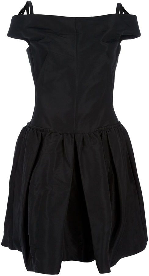 sleeveless fitted waist dress