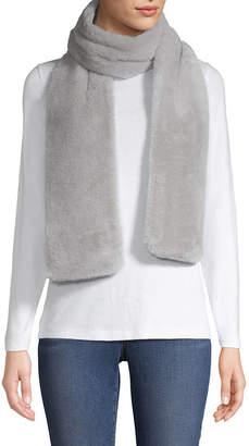 MIXIT Mixit Faux Fur Oblong Cold Weather Scarf