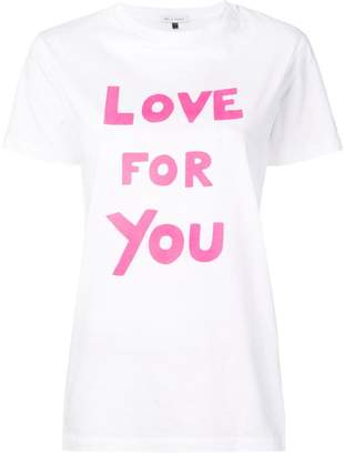 Bella Freud Love For You Tシャツ