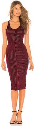 superdown Shay Chevron Bodycon Dress