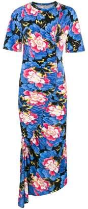 Kenzo Velvet 'Indonesian Flower' dress