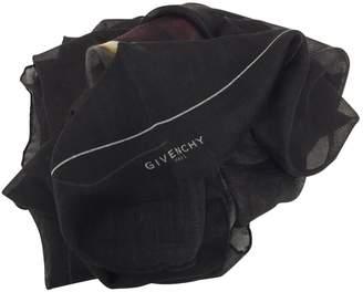 Givenchy Black Cashmere Scarves