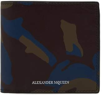 Alexander McQueen Camo Billfold Wallet
